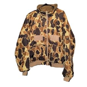 Columbia Reversible Camouflage Hunting Jacket
